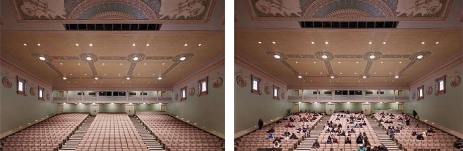 Lincoln Hall Theater seating